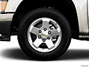 2009 Chevrolet Colorado LT, front drivers side wheel at profile.