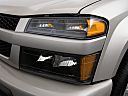 2009 Chevrolet Colorado LT, drivers side headlight.