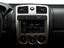 2009 Chevrolet Colorado LT, closeup of radio head unit
