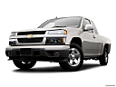 2009 Chevrolet Colorado LT, front angle view, low wide perspective.