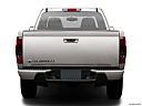 2009 Chevrolet Colorado LT, low/wide rear.