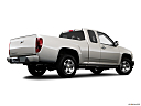 2009 Chevrolet Colorado LT, low/wide rear 5/8.