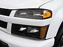 2009 Chevrolet Colorado WT, drivers side headlight.