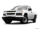 2009 Chevrolet Colorado WT, front angle view, low wide perspective.