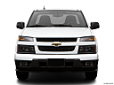 2009 Chevrolet Colorado WT, low/wide front.