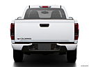 2009 Chevrolet Colorado WT, low/wide rear.