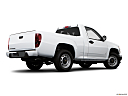 2009 Chevrolet Colorado WT, low/wide rear 5/8.