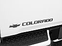 2009 Chevrolet Colorado WT, rear model badge/emblem