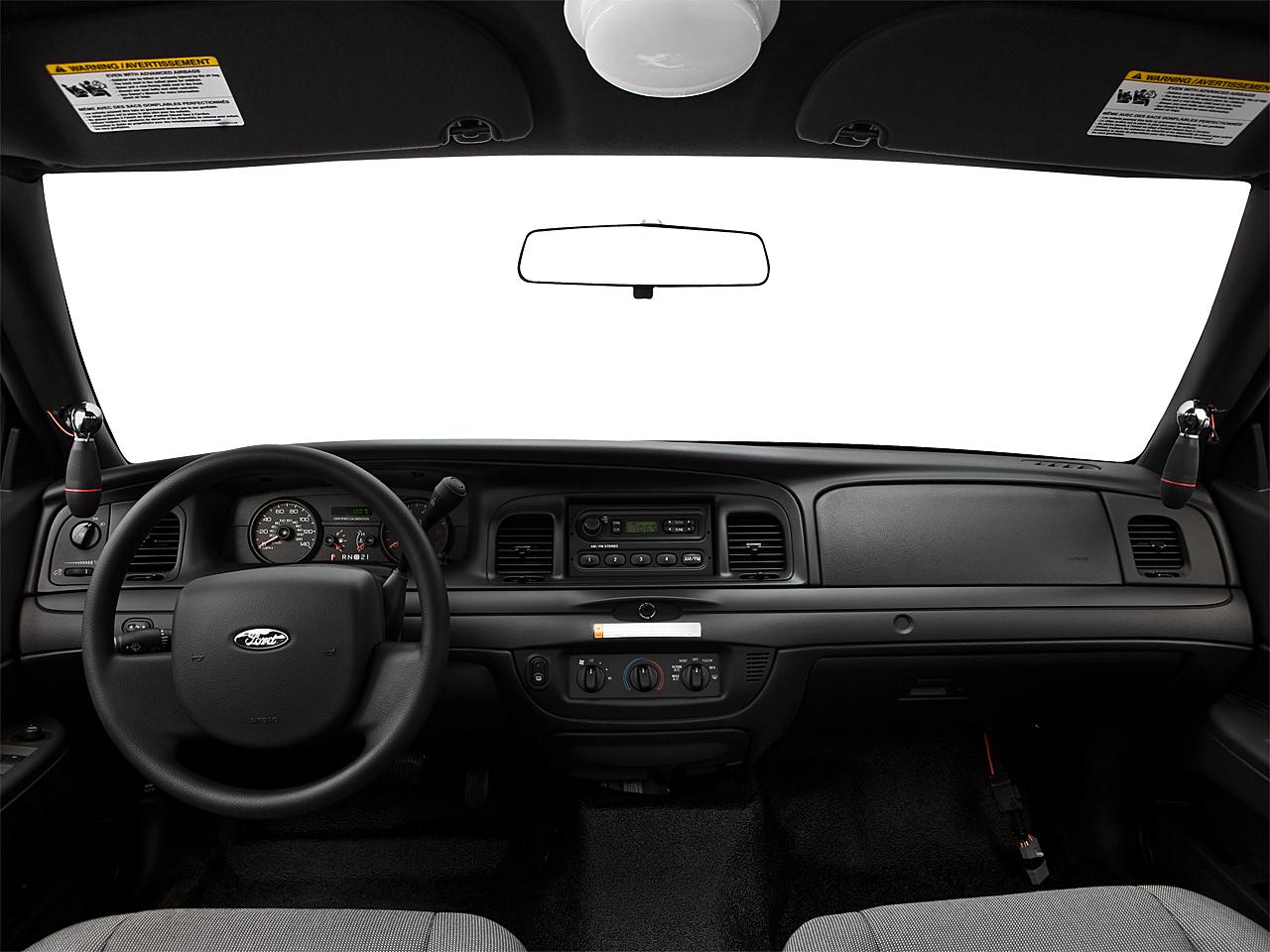 2009 Ford Crown Victoria Police Interceptor 4dr Sedan (3 55 Axle