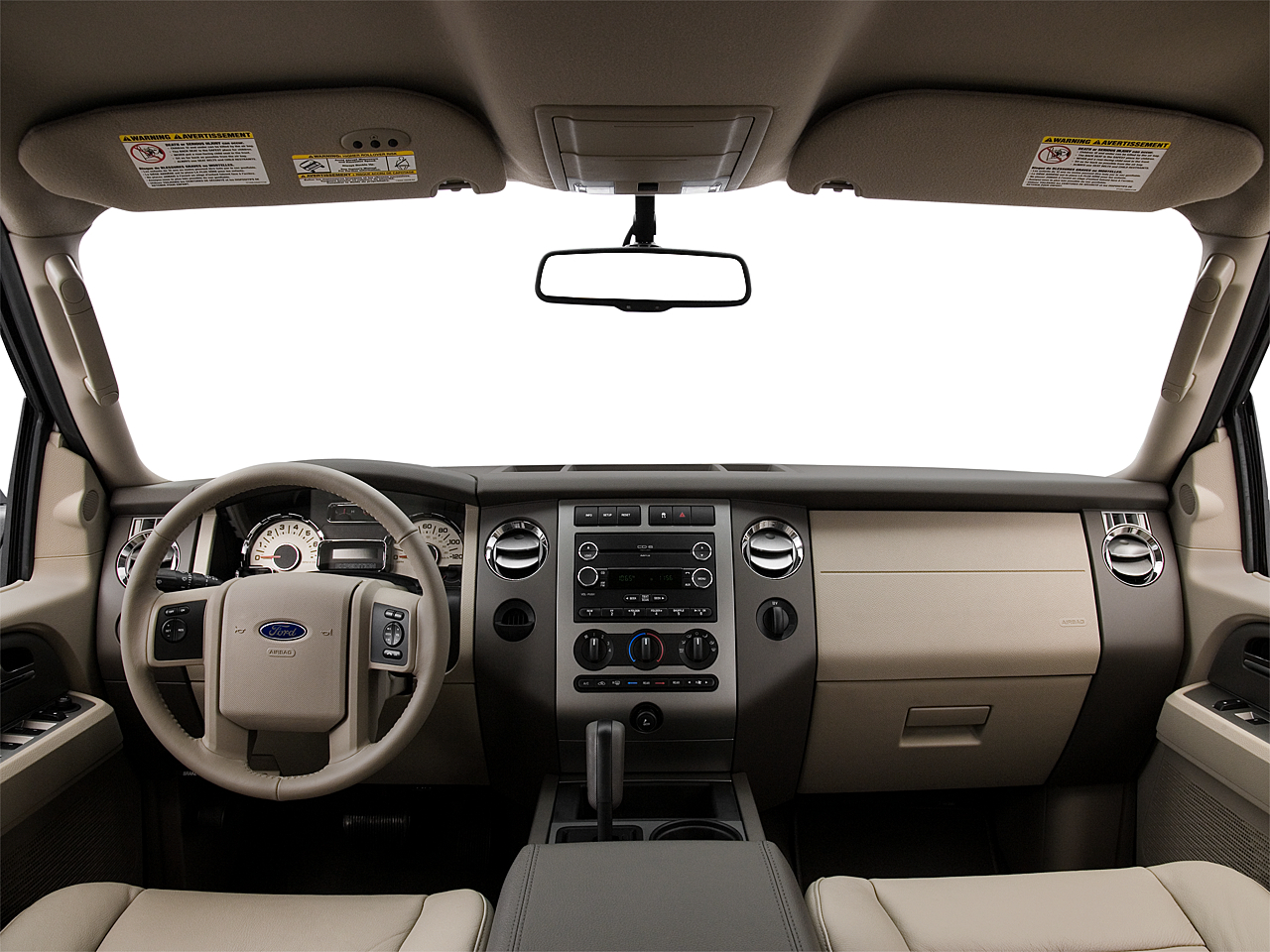 2009 ford expedition xlt centered wide dash shot