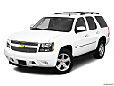 2010 Chevrolet Tahoe LTZ, front angle view.