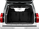 2010 Chevrolet Tahoe LTZ, trunk open.