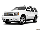 2010 Chevrolet Tahoe LTZ, front angle medium view.