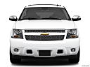2010 Chevrolet Tahoe LTZ, low/wide front.