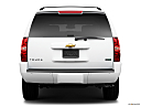 2010 Chevrolet Tahoe LTZ, low/wide rear.