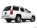 2010 Chevrolet Tahoe LTZ, low/wide rear 5/8.