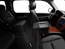 2010 Chevrolet Tahoe LTZ, fake buck shot - interior from passenger b pillar.