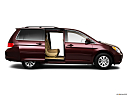 2010 Honda Odyssey EX, passenger's side view, sliding door open (vans only).