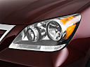 2010 Honda Odyssey EX, drivers side headlight.