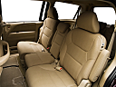 2010 Honda Odyssey EX, rear seats from drivers side.