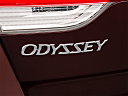 2010 Honda Odyssey EX, rear model badge/emblem