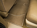 2010 Honda Odyssey EX, rear driver's side floor mat. mid-seat level from outside looking in.