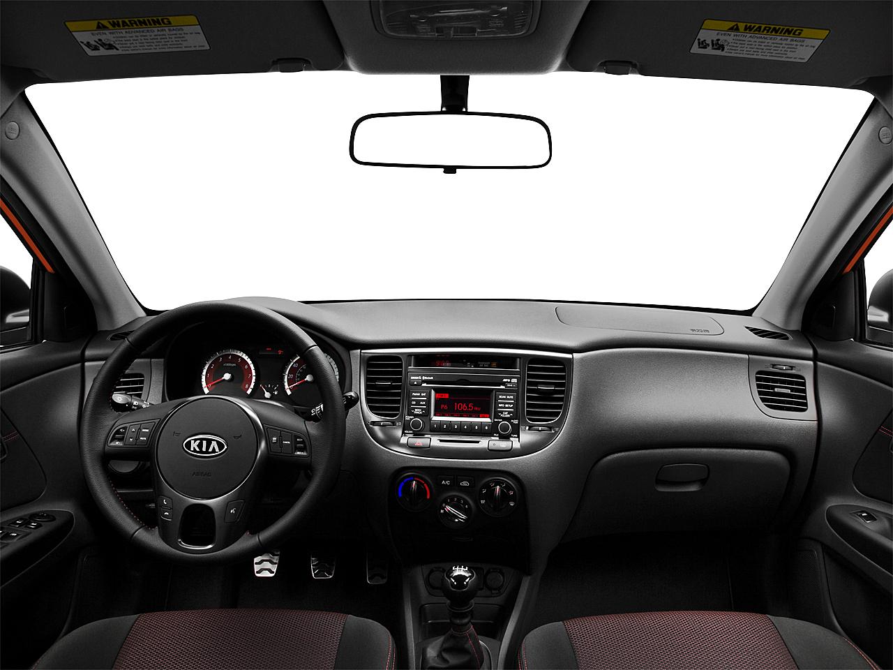 2010 Kia Rio5 Sx 4dr Wagon 5m Research Groovecar Centered Wide Dash Shot