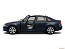 2011 Audi A4 2.0T, driver's side profile with drivers side door open.