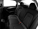 2011 Audi A4 Premium Plus, rear seats from drivers side.