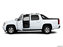 2011 Chevrolet Avalanche LS, driver's side profile with drivers side door open.