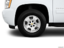 2011 Chevrolet Avalanche LS, front drivers side wheel at profile.