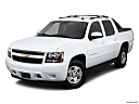 2011 Chevrolet Avalanche LS, front angle view.