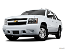 2011 Chevrolet Avalanche LS, front angle view, low wide perspective.