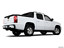2011 Chevrolet Avalanche LS, low/wide rear 5/8.
