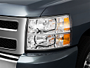 2011 Chevrolet Silverado 1500 WT, drivers side headlight.
