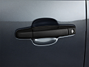 2011 Chevrolet Silverado 1500 WT, drivers side door handle.