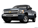 2011 Chevrolet Silverado 1500 WT, front angle view, low wide perspective.