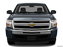 2011 Chevrolet Silverado 1500 WT, low/wide front.