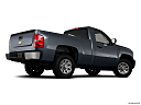 2011 Chevrolet Silverado 1500 WT, low/wide rear 5/8.