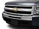 2011 Chevrolet Silverado 1500 WT, close up of grill.