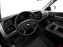 2011 Chevrolet Silverado 1500 WT, interior hero (driver's side).