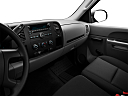 2011 Chevrolet Silverado 1500 WT, center console/passenger side.