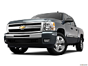 2011 Chevrolet Silverado 1500 LT, front angle view, low wide perspective.