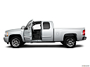 2011 Chevrolet Silverado 1500 LT, driver's side profile with drivers side door open.