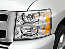 2011 Chevrolet Silverado 1500 LT, drivers side headlight.