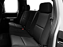 2011 Chevrolet Silverado 1500 LT, rear seats from drivers side.