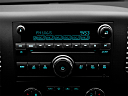 2011 Chevrolet Silverado 1500 LT, closeup of radio head unit