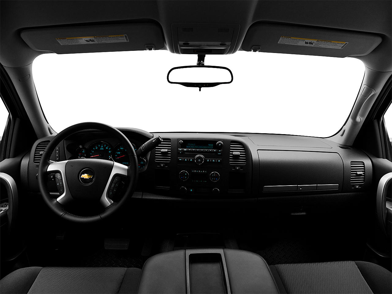 2011 Chevrolet Silverado 1500 LT, centered wide dash shot