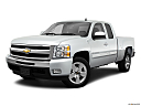2011 Chevrolet Silverado 1500 LT, front angle medium view.