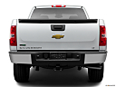 2011 Chevrolet Silverado 1500 LT, low/wide rear.